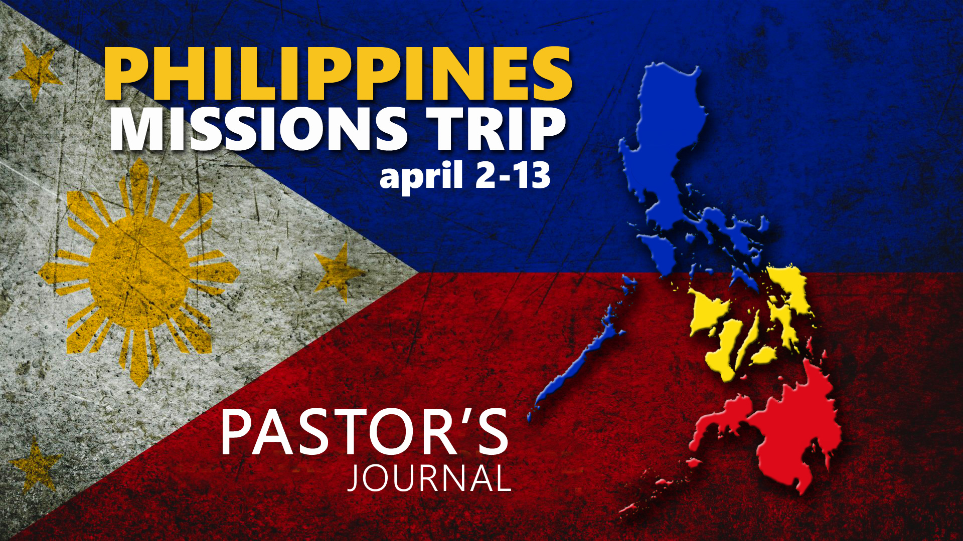 pastor s missions trip journal from the philippines april 2 13